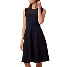Buy Hobbs Gillian Dress, Navy Online at johnlewis.com