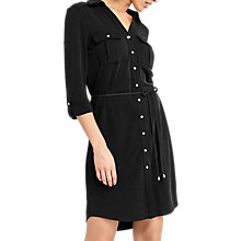 Buy Oasis Textured Shirt Dress Online at johnlewis.com