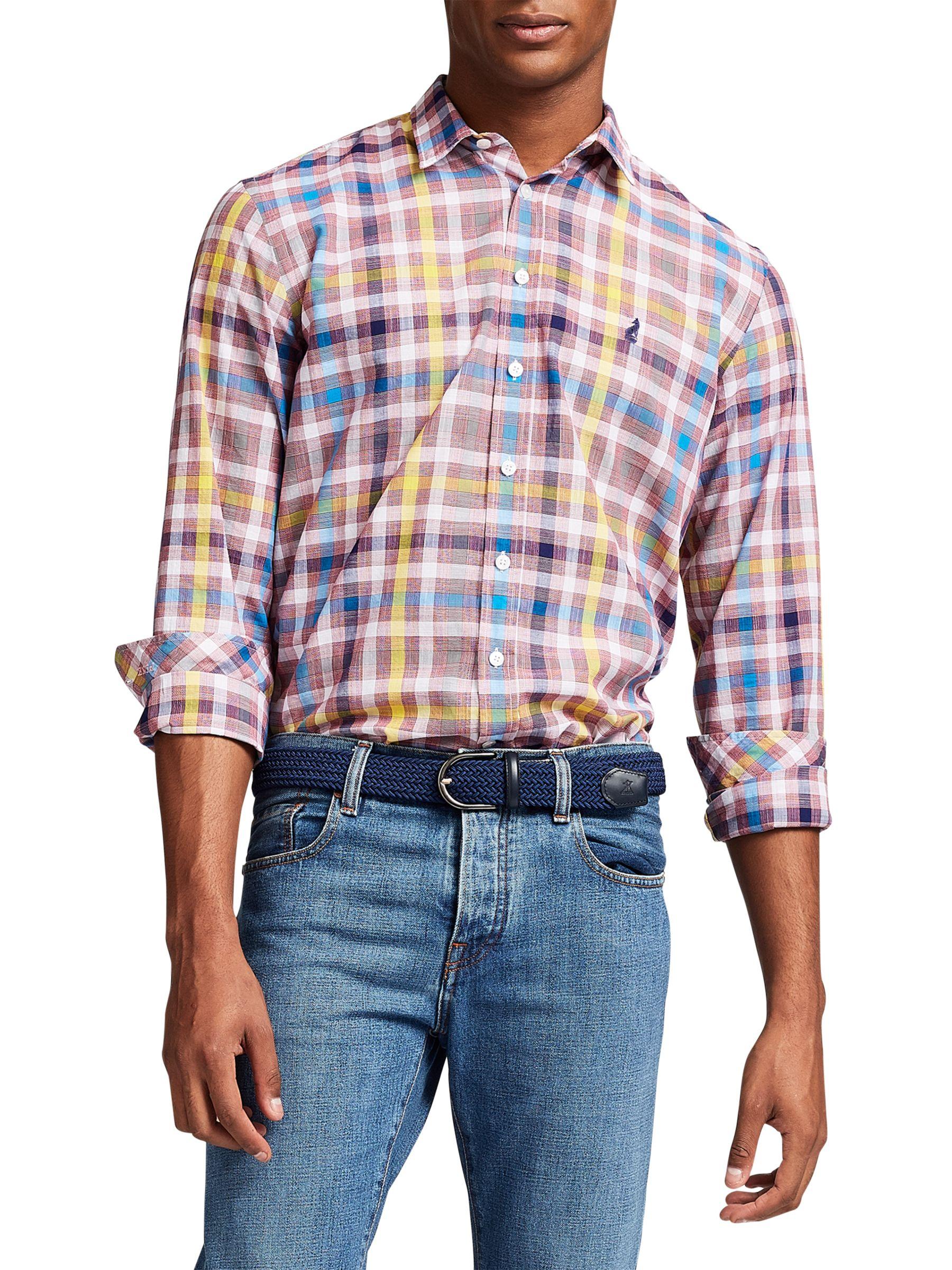 Thomas Pink Thomas Pink Harris Check Classic Fit Shirt