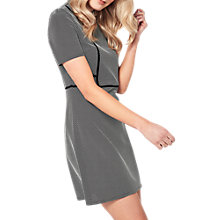 Buy Miss Selfridge Jacquard Aline Mini Dress, Multi Online at johnlewis.com