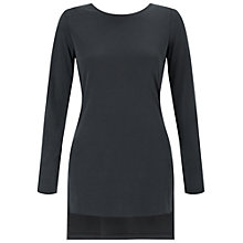 Buy Miss Selfridge Twist Back Tunic Top Online at johnlewis.com