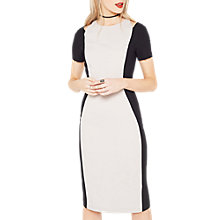 Buy Miss Selfridge Colour Block Cutout Dress, Multi Online at johnlewis.com
