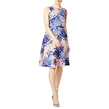 Buy Precis Petite Enid Flower Prom Dress, Navy Online at johnlewis.com
