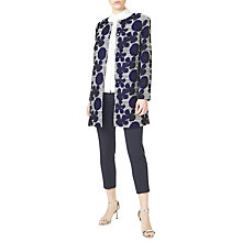 Buy Precis Petite Floral Jacquard Coat, Multi Online at johnlewis.com