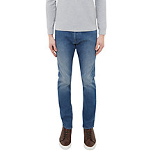 Buy Ted Baker Total Tapered Fit Jeans, Light Wash Online at johnlewis.com