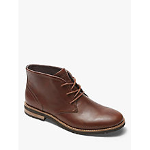 Buy Rockport Leather Chukka Boots, Tan Online at johnlewis.com