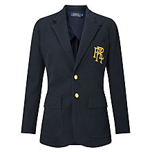 Buy Polo Ralph Lauren Knit Cotton Blazer Online at johnlewis.com