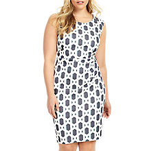 Buy Studio 8 Dannika Dress, Ivory/Blue Online at johnlewis.com