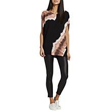 Buy Mint Velvet Isla Print Oversized T-Shirt, Multi Online at johnlewis.com