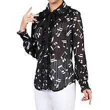Buy Jolie Moi Note Printed Blouse Online at johnlewis.com