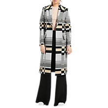 Buy Grace & Oliver Bella Jacquard Tailored Coat, Multi Online at johnlewis.com