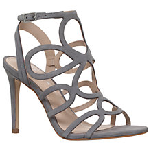 Buy Carvela Gabby Occasion Stiletto Sandals, Grey Online at johnlewis.com