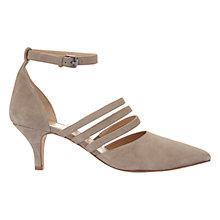 Buy Mint Velvet Flossie Triple Strap Court Shoes Online at johnlewis.com