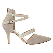 Buy Mint Velvet Nancy Cross Strap Court Shoes Online at johnlewis.com