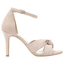 Buy Mint Velvet Merty Suede Open Toe Court Shoes, Light Pink Online at johnlewis.com