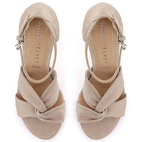 buy mint velvet merty suede open toe court shoes light