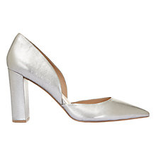 Buy Mint Velvet Lulu Pointed Toe Court Shoes, Gunmetal Grey Online at johnlewis.com