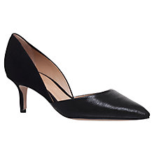 Buy Kurt Geiger Talli Two Part Court Shoes Online at johnlewis.com