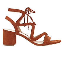 Buy Mint Velvet Tillie Block Heeled Sandals Online at johnlewis.com