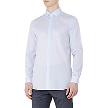 Buy Reiss Hardy Regular Fit Shirt, Soft Blue Online at johnlewis.com