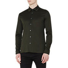 Buy Reiss Chapter Mercerised Cotton Slim Fit Shirt Online at johnlewis.com
