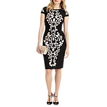Buy Phase Eight Perdy Tapework Dress, Black Online at johnlewis.com