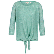 Buy Fat Face Talia Tie Front Jumper Online at johnlewis.com
