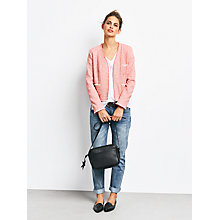 Buy hush Balzac Tweed Jacket, Pink Online at johnlewis.com