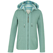 Buy Fat Face Hemsby Hoodie, Turquoise Online at johnlewis.com