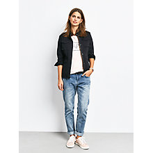 Buy hush Military Jacket, Washed Black Online at johnlewis.com