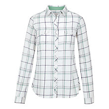 Buy Fat Face Rosie Check Shirt, Ivory Online at johnlewis.com