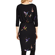 Buy Phase Eight Bianca Bird Print Dress, Multi Online at johnlewis.com