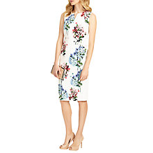Buy Phase Eight Hydrangea Print Dress, Ivory/Multi Online at johnlewis.com