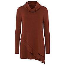 Buy Phase Eight Woven Hem Roll Neck Jumper Online at johnlewis.com