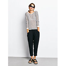 Buy hush Stripe Boat Neck Jumper Online at johnlewis.com