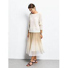 Buy hush Eve Jumper, Ecru Online at johnlewis.com