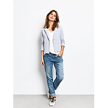 Buy hush Jersey Blazer, Grey Marl Online at johnlewis.com