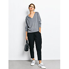 Buy hush Glitter V-Neck Jumper Online at johnlewis.com