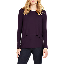 Buy Phase Eight Dita Double Layer Top Online at johnlewis.com