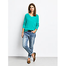Buy hush Cashmere V-Neck Jumper Online at johnlewis.com