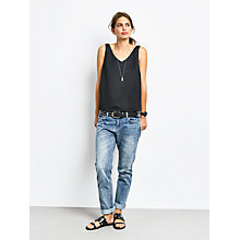 Buy hush Daphne Top, Black Online at johnlewis.com