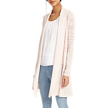 Buy Phase Eight Slub Lili Longline Cardigan, Soft Pink Online at johnlewis.com