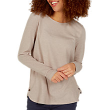 Buy Fat Face Tulip Texture Stripe Top, Ivory Online at johnlewis.com