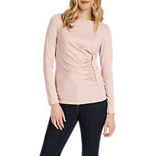 Buy Phase Eight Zoe Zip Jersey Top Online at johnlewis.com