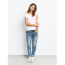 Buy hush Aloha T-Shirt, White/Pink/Blue Online at johnlewis.com