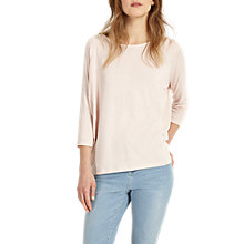 Buy Phase Eight Carris Top, Pale Pink Online at johnlewis.com