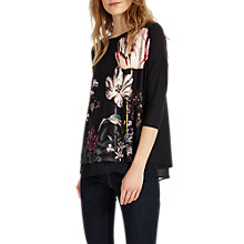 Buy Phase Eight Marguerite Print Top, Multi Online at johnlewis.com