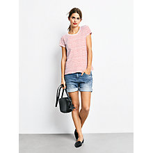 Buy hush Chloe Striped Cotton T-Shirt Online at johnlewis.com