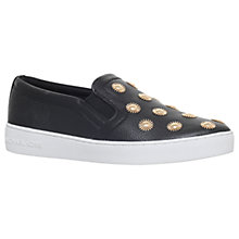 Buy MICHAEL Michael Kors Leo Slip On Trainers Online at johnlewis.com