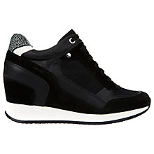 Buy Geox Nydame Wedge Heeled Trainers Online at johnlewis.com
